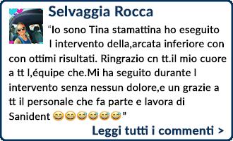 Testimonianza Selvaggia Rocca
